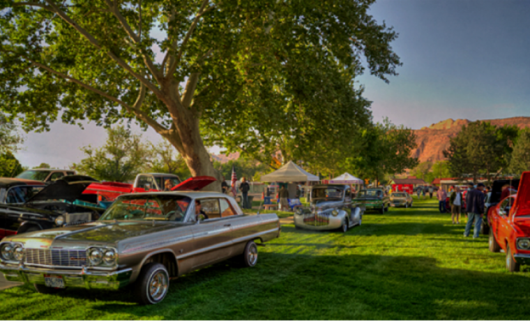 Annual Moab Classic Car Show - Local classic car shows